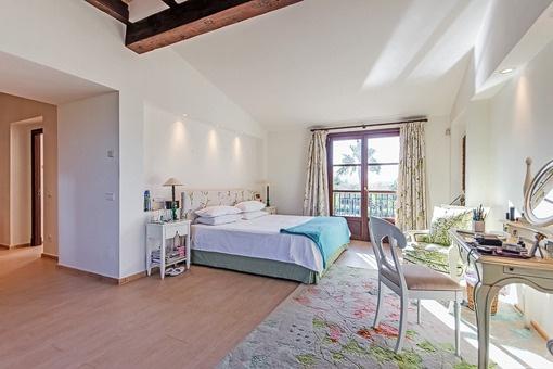 Hauptschlafzimmer mit einmaligem Ausblick