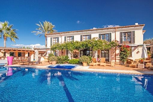 Wunderschöne Villa mit fantastischem Garten und viel Privatsphäre in Puerto Andratx