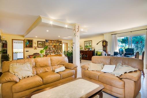 Einladendes Wohnzimmer