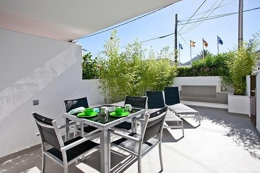 Moderne Wohnung in zentraler Lage in Puerto Andratx