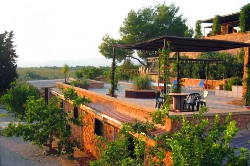 Palmanahe Finca mit Möglichkeit für 3-5 Gästehäusern