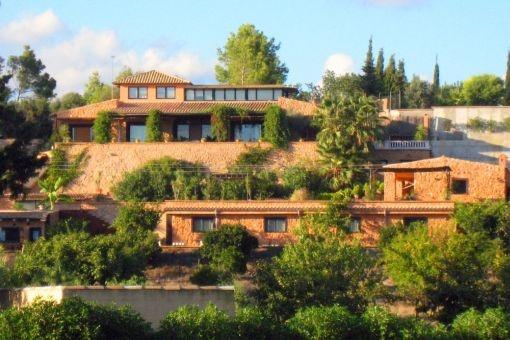Spektakuläre Finca mit Aussicht nahe Palma, in Marratxí
