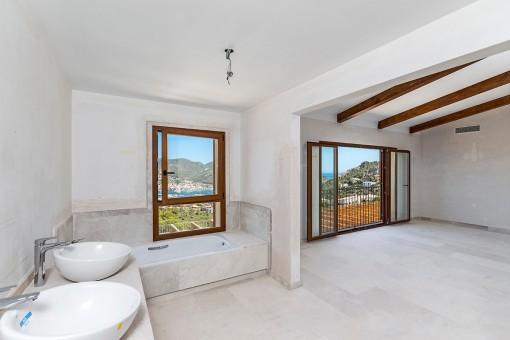 Badezimmer en Suite vom Hauptschlafzimmer