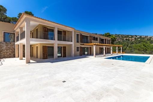 Beeindruckende Villa