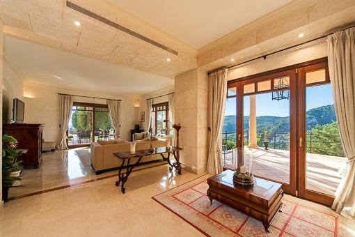 Wohnbereich mit fantastischer Terrasse