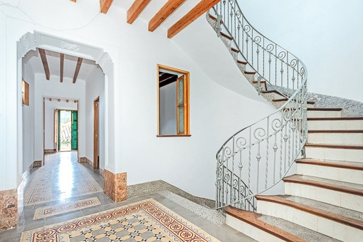 Antiker Treppenaufgang