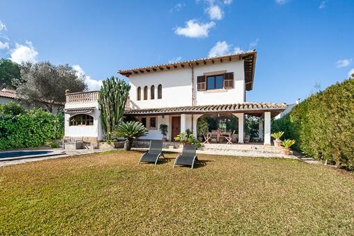 Rustikales Haus modern eingerichtet mit mallorquinischem Flair nicht weit von Palma und mit Nähe zum Strand