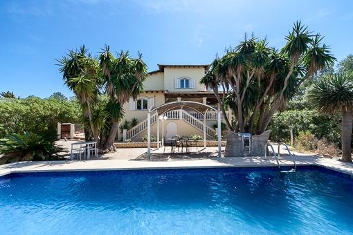 Wunderbare Villa mit Gästehaus und viel Privatsphäre in Sa Cabaneta