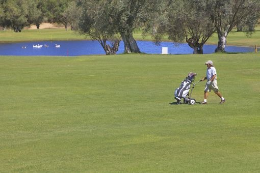 Großes Grundstück für einen neuen Golfplatz