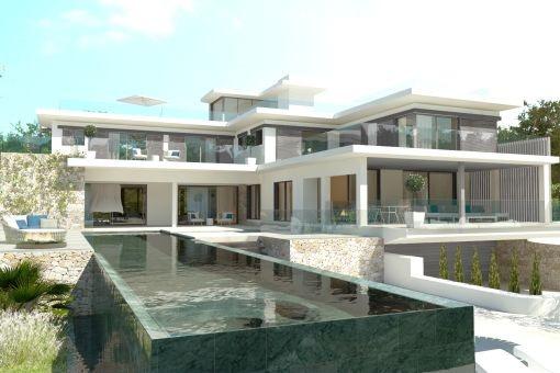 Moderne luxusvilla mit pool  Villa Schlafzimmer Modern ~ Beste Ideen für moderne Innenarchitektur