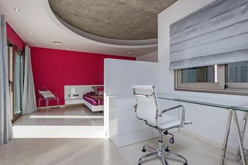 Büro des Hauptschlafzimmers