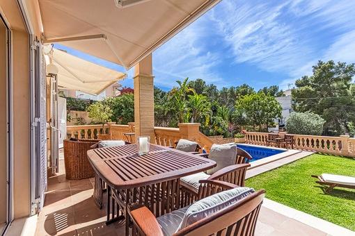 Sehr schönes Haus in ruhiger Gegend von Santa Ponsa