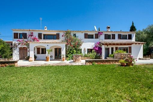 Außenansicht des Hauses in Sa Cabaneta
