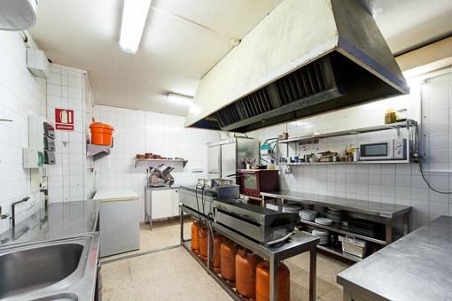 Gepflegte Küche