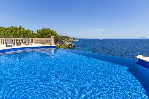 Luxusvilla mit direktem Meerzugang und unglaublichem Blick in Sol de Mallorca