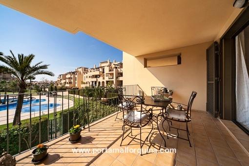 Tolle Wohnung mit mallorquinischen Elementen in Puig de Ros