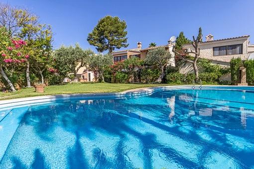 Charmante mediterrane Villa in Golf Bendinat