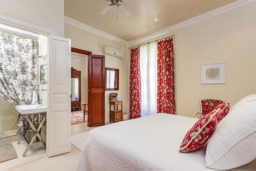 Einzigartiges Schlafzimmer