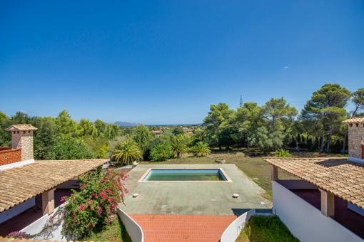 Villa zwischen Alcúdia und Pollença mit Blick auf die Bucht von Pollença und großzügigen Wohnflächen