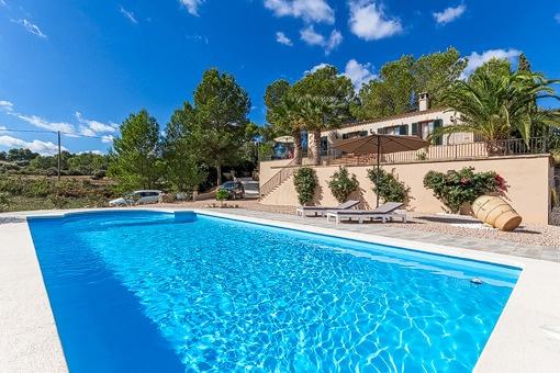 Finca mit privatem Pool in einer ländlichen Umgebung in der Nähe von Felanitx
