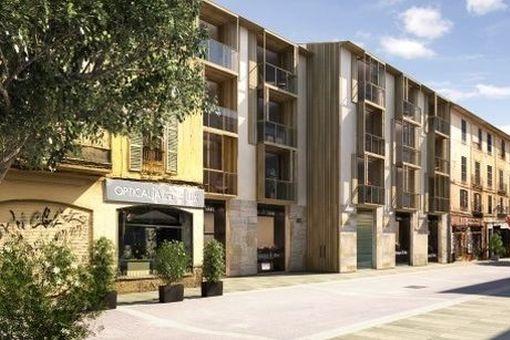 Herrliches, im Bau befindliches Designer-Penthouse zum Erstbezug mit Parkplatz, im Zentrum der Altstadt