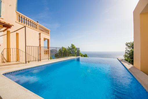 Fantastische Villa mit spektakulärem Meerblick in Canyamel