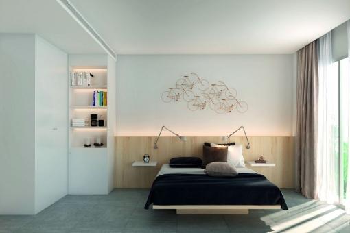 apartment im bau mit 3 schlafzimmern in puerto de andratx zu kaufen. Black Bedroom Furniture Sets. Home Design Ideas