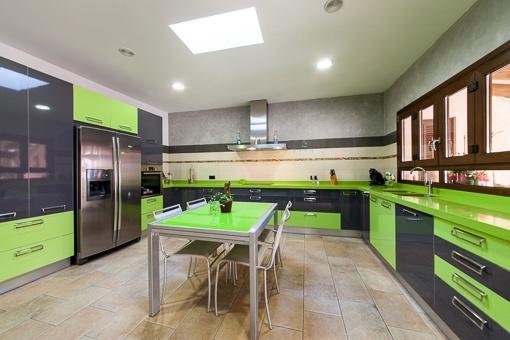 Extravagante Küche