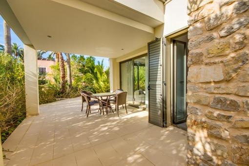 Luxuriöse Erdgeschosswohnung in der Nähe des Meeres in Port Verd