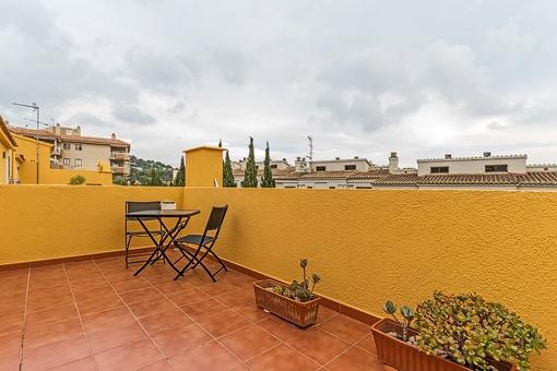 Dachterrasse mit herrlichem Ausblick über Portals Nous