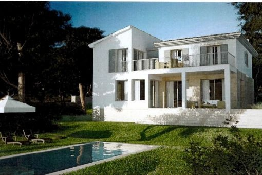 Traumhaus - Projekt in Nova Santa Ponsa zu kaufen