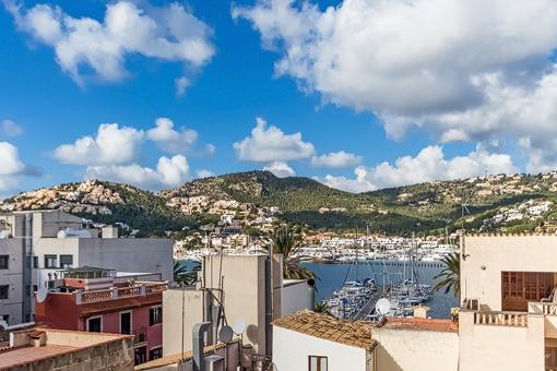 Schönes Apartment mit Meerblick im Zentrum von Port Andratx