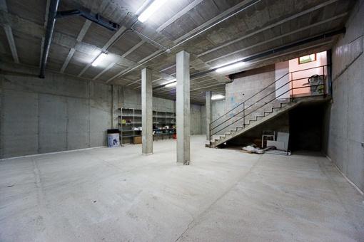 Garage der Finca