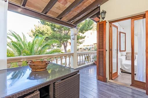 Gemütliches Appartement mit Teilmeerblick und direktem Meerzugang in Sant Elm