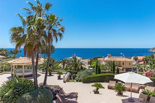 Luxus-Anwesen mit fantastischem Meerblick in begehrter Lage in Nova Santa Ponsa