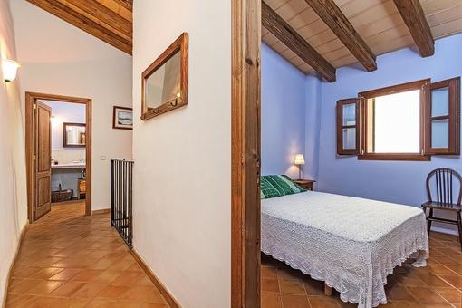 Schlafzimmer auf der oberen Etage