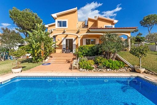 Wunderschöne, ruhig gelegene Villa in Nova Santa Ponsa