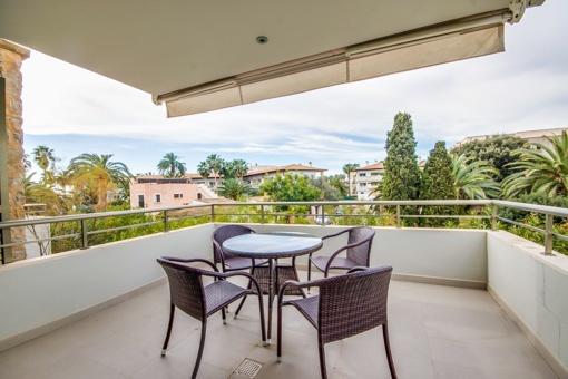 Wunderschöne Wohnung in der ersten Etage einer luxuriösen Wohnanlage in Port Verd