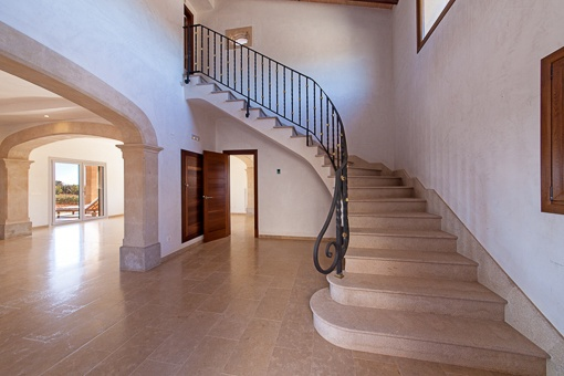 Einmaliger Treppenaufgang