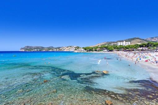 Der schöne Strand von Paguera
