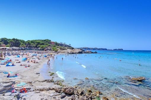 Weiterer Strand in Paguera