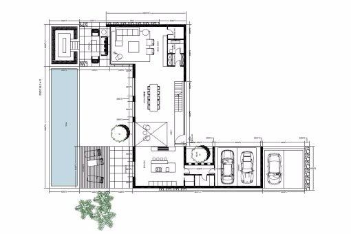Spektakuläres Villenprojekt mit Pool und Ausblick in der ...