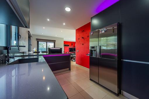 Beeindruckende Küche