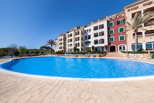 Attraktive Wohnung in erster Meereslinie in Vallgonera