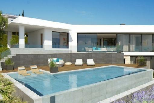 Projekt für eine Luxusvilla in Santa Ponsa