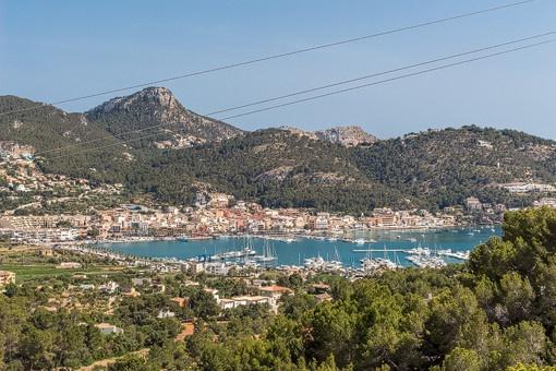 Einzigartiger Blick auf das Mittelmeer von der Villa aus