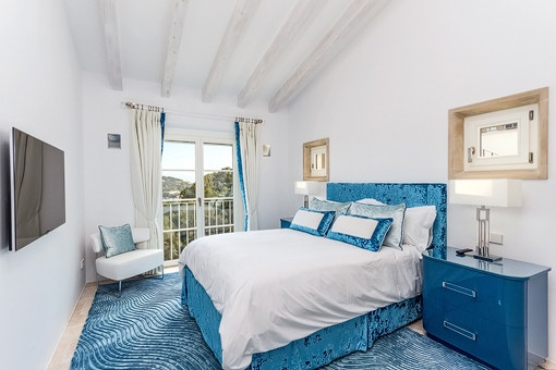 Nobles Schlafzimmer
