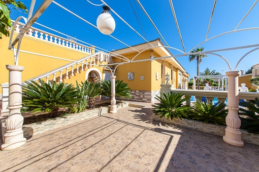Mediterran terrace