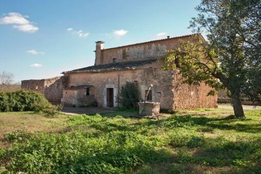 Mallorquinische Finca mit grossem Grundstück bietet vielfältige Möglichkeiten der Nutzung