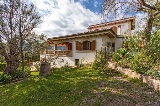 Villa mit traumhaften Garten
